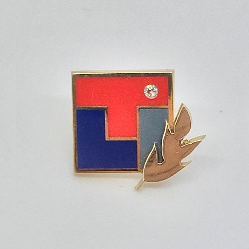 Значки с логотипом компании Рутектор
